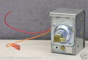 Johnson Controls P10BC-7 Low Pressure Control Switch (Single Stage) P10 Series