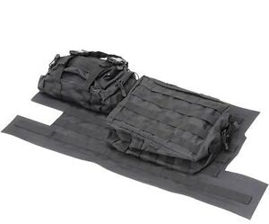 SMITTYBILT GEAR Tailgate Storage Cover Black unlimited 07-18 FOR jeep wrangler