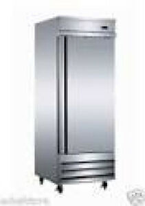 Serv Ware RR 1 Refrigerator single door reach in stainless Value Quality $1695.00