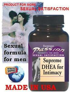 SUPREME DHEA FOR INTIMACY w Avena Sativa 45 Tablets Sexual formula for men