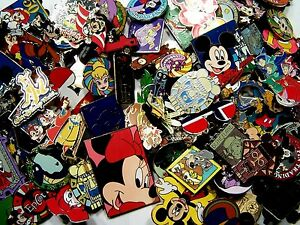 DISNEY PINS 125 PIN mixed lot FASTEST SHIPPER IN USA FREE shipping 100% tradable $55.85