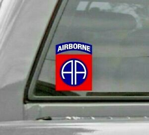 82nd Airborne Division All American Car Vinyl Window Decal Sticker