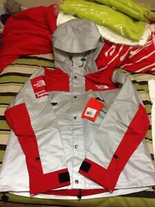 Supreme NORTH FACE MOUNTAIN JACKET 3M REFLECTIVE BOX LOGO DIPSET YEEZY