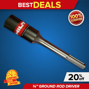 HILTI 10 3 4 GROUND DRIVER ROD, BRAND NEW, HEAVY DUTY, L@@K,  FAST SHIPPING