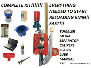 Lee Loadmaster Progressive Press 9mm Lee 90936 - COMPLETE KIT FOR RELOADING