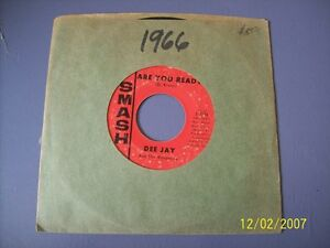 Dee Jay and Runaways Peter Rabbit Are You Ready 45 RPM VG $5.22
