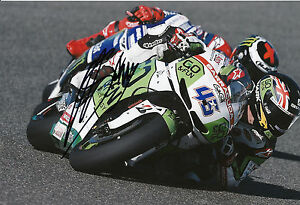 Scott Redding Hand Signed GO&FUN Honda Gresini 12x8 Photo 2014 MotoGP 1.