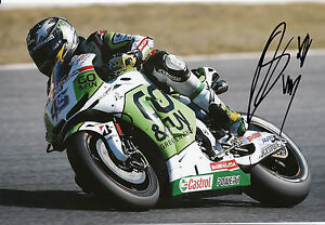Scott Redding Hand Signed GO&FUN Honda Gresini 12x8 Photo 2014 MotoGP 6.