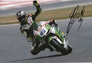 Scott Redding Hand Signed GO&FUN Honda Gresini 12x8 Photo 2014 MotoGP 7.
