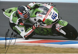 Scott Redding Hand Signed GO&FUN Honda Gresini 12x8 Photo 2014 MotoGP 9.
