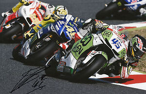 Scott Redding Hand Signed GO&FUN Honda Gresini 12x8 Photo 2014 MotoGP 12.