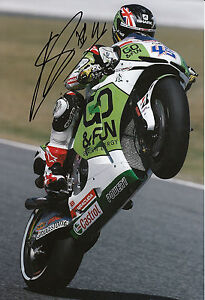 Scott Redding Hand Signed GO&FUN Honda Gresini 12x8 Photo 2014 MotoGP 14.