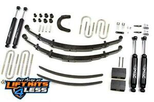 Zone 6'' Full Suspension Lift Kit C23N for 1973-1987 Chevy GMC K2500 SUV 34 Ton