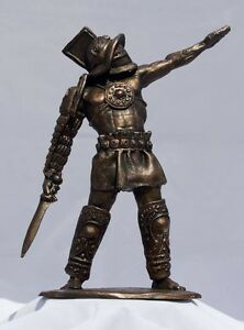 Gladiator Sculpture In Bronze By Chris Levatino $900.00