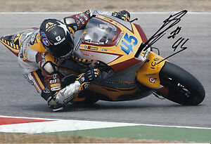 Scott Redding Hand Signed Marc VDS Racing 12x8 Photo Moto2 MotoGP 2.