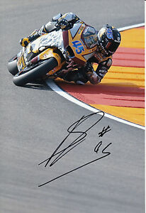 Scott Redding Hand Signed Marc VDS Racing 12x8 Photo Moto2 MotoGP 4.