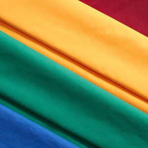Cotton Polyester Broadcloth Fabric 60quot; inch Apparel Solid PolyCotton Per Yard $3.29