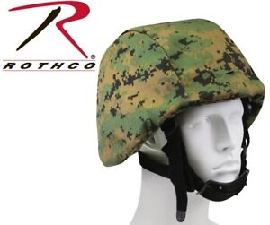 Woodland Digital Military Helmet Cover For PASGT M88 Tactical Rothco 9354
