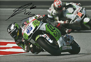 Scott Redding Hand Signed GO&FUN Honda Gresini 12x8 Photo 2014 MotoGP 16.