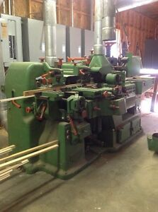 Wood Moulding Manufacturing Molding Equipment For Sale  Retired