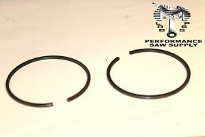 HOMELITE SUPER XL, BIG RED, OLD BLUE PISTON RINGS 594361A HIGH QUALITY, 1 13/16