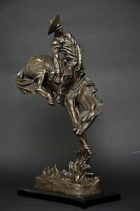 The Outlaw bronze sculpture by Frederic Remington finest USA casting