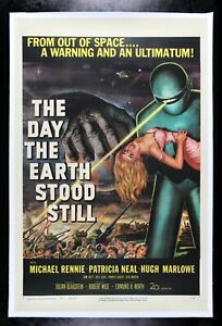 THE DAY THE EARTH STOOD STILL * 1951 CineMasterpieces ORIGINAL MOVIE POSTER