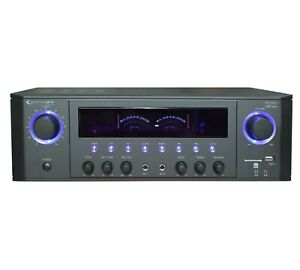 Technical Pro 1000W Professional Receiver with USB & SD Card Inputs  RX38UR