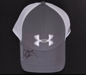 JORDAN SPIETH FULL AUTO UNDER ARMOUR HAT PSA MASTERS 2015 TEXAS SIGNED PGA