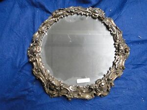 SILVER PLATED WEDDING CAKE STAND ANTIQUE VICTORIAN 1850 BEAUTIFULLY CAST BORDER