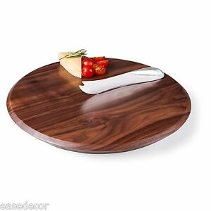 Picnic Time SOLSTICE BLACK WALNUT CUTTING BOARD AND CHEESE HANDLES KNIFE DESIGN