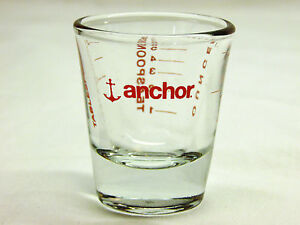 Anchor Hocking Mini Measuring Cup - Clear with Red Lettering
