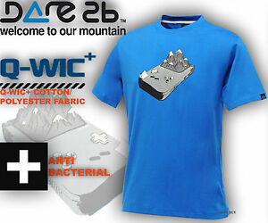 Dare2b T Shirts Active Wear Top Console Tee Outdoor T Gym Sport Running T Shirts GBP 8.45