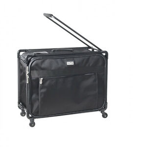 Tutto 24quot; Collapsible Small Pullman w Garment Bag Luggage 5024BPM Black $129.00