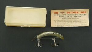 The Get-Fish Lure - Horrocks-Ibbotson Company - For Bass  Muskies  Walleyes
