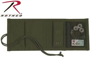 Sewing Kit Olive Drab Green Canvas Military Sewing Kit 1123 $7.99