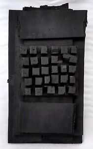 Louise Nevelson (Russian 1899-1988) Cubist Wooden  Assemblage