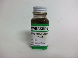 Hawbakers quot;Muskrat Lure No. 2quot; 1 Oz. Muskrat Lure Traps Trapping Bait