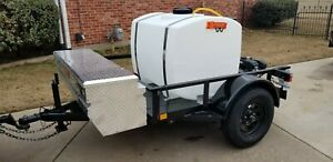 DETRAILERS TURBO STINGER PRESSURE WASH TRAILER - NEW - FREE SHIPPING