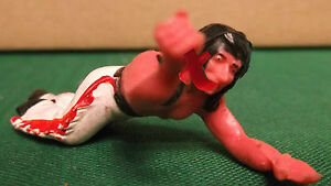 toy indian ostalgie rubber figures rare colors 25