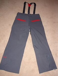 Under Armour MTN Storm Recco Men's GrayRed Ski Snowboarding Pants Sz L $400 NWT