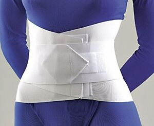 FLA Lumbar Sacral Support With Overlapping Abdominal Belt 10quot; #31 208X $35.50