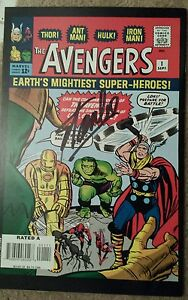 The Avengers #1 Reprint Signed by STAN LEE Collectors Item Marvel Comics!!!!!!!!