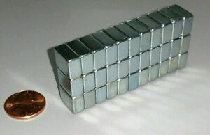 30 Neodymium Block Magnets Large N52 Super Strong Rare Earth 12