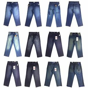 G UNIT MEN'S DESIGNER NEW JEAN ASSORTED STYLES BAGGY GROUP (1)