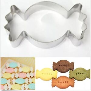 3.25 inches Candy Stainless Steel Cookie Cutter for Pastry, Fondant, Gumpaste