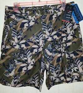 Under Armour HeatGear Hydro Armour Performance Cargo Shorts: 36 (NWT) 1244207