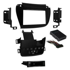 Metra 99-6520B Black SingleDouble DIN Dash Kit for Select 2011-up Dodge Journey