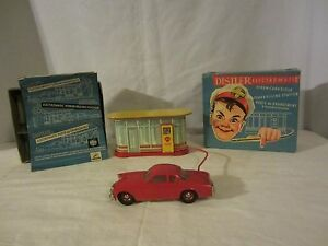 shell electromatic filling station w studebaker