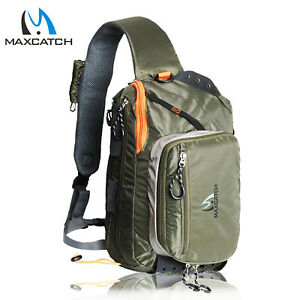 Fishing Sling Back Pack Outdoorsport Fly Fishing Sling Bag With Fly Patch